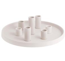 Storefactory Kerzenteller Lingsberg White