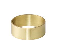 Bloomingville Serviettenring Gold Brushed 4er-Set