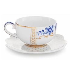 PIP Studio Espressotasse mit Unterteller Royal White