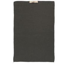 IB LAURSEN Handtuch Mynte Thunder Grey gestrickt