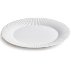 Kähler Design Hammershøi Ovale Servierplatte 28.5 cm weiß