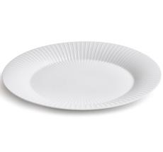 Kähler Design Hammershøi Ovale Servierplatte 34 cm weiß