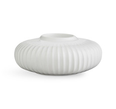 Kähler Design Hammershøi Teelichthalter Ø13 cm weiß