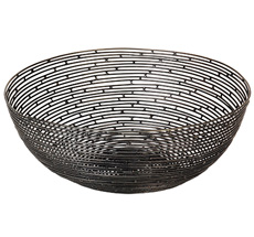 Broste Copenhagen Korb Algot Eisen Black 26 cm