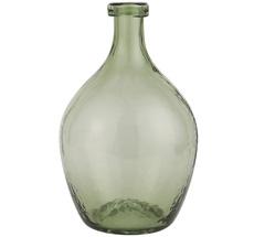 IB LAURSEN Glasballon Grünes Glas mundgeblasen