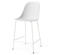 Menu Harbour Stuhl Side Counter Chair Light Grey Steel Base/Light Grey Shell