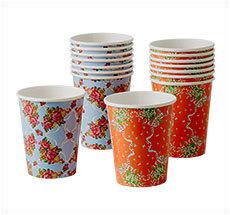 Rice Pappbecher Handkerchief Prints