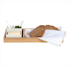 Raumgestalt Brot, Butter & Salz