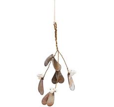 House Doctor Deko-Ornament Misteltoe Antik Metallisch Small