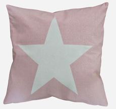 Krasilnikoff Kissenbezug Big Star Pink