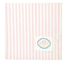 GreenGate Stoffserviette Alice Stripe Pale Pink
