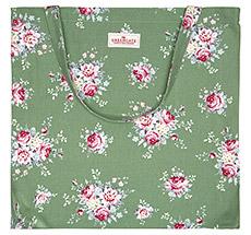 GreenGate Tasche Shopper Aurelia Green