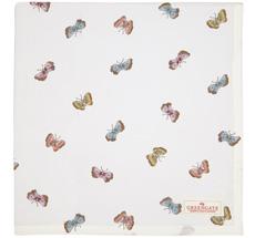 GreenGate Tischdecke Maisie White 150x150cm