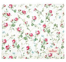 GreenGate Tischdecke Constance White 145x250cm