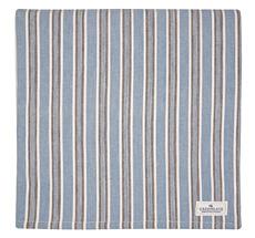 GreenGate Tischdecke Ivah Stripe Blue 145x250cm