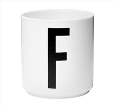Design Letters Porzellan Becher F