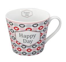 Krasilnikoff Tasse Happy Cup Happy Day