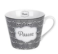 Krasilnikoff Tasse Happy Cup Pause