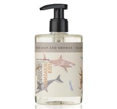 Humdakin Seife für Kinder Soap & Shower Wild animals 300 ml