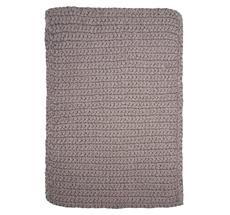 House Doctor Teppich Crochet Grau 90 x 60
