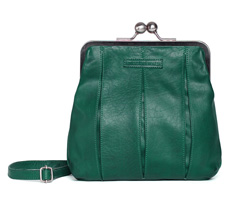 Sticks and Stones Ledertasche Luxembourg Washed Pine Green