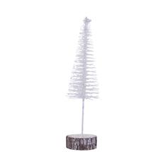 House Doctor Dekobaum Tree Sparkle Weiß glitter S