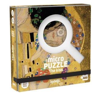 Londji Micropuzzle The Kiss Gustav Klimt 600-teilig