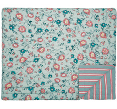 GreenGate Quilt Tagesdecke Sienna Dusty Mint