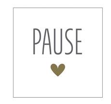 Krasilnikoff Papierserviette Pause