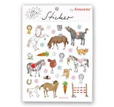 krima & isa Sticker Ponys 5 Bögen