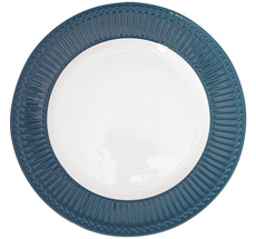 GreenGate Speiseteller Alice Ocean Blue 26,5 cm