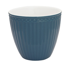 GreenGate Latte Cup Becher Alice Ocean Blue
