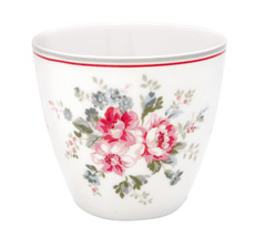 GreenGate Latte Cup Becher Elouise White