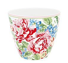 GreenGate Latte Cup Becher Emmaline White