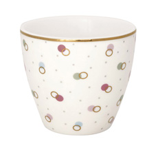 GreenGate Latte Cup Becher Kylie White