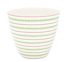 GreenGate Latte Cup Becher Sari White