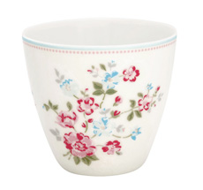 GreenGate Latte Cup Becher Sonia White