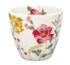 GreenGate Latte Cup Becher Thilde White