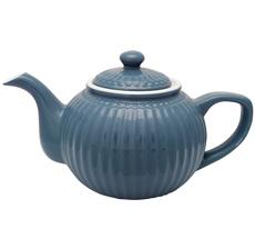 GreenGate Teekanne Alice Ocean Blue