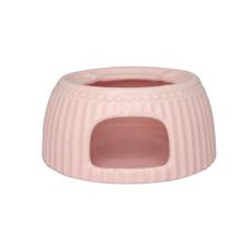 GreenGate Teekannen-Stövchen Alice Pale Pink