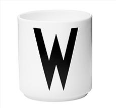 Design Letters Porzellan Becher W •