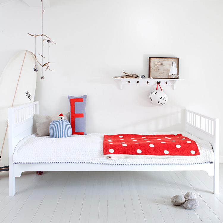 Einzelbett weiß  Oliver Furniture Einzelbett Weiß - Sofort Lieferbar! online kaufen ...