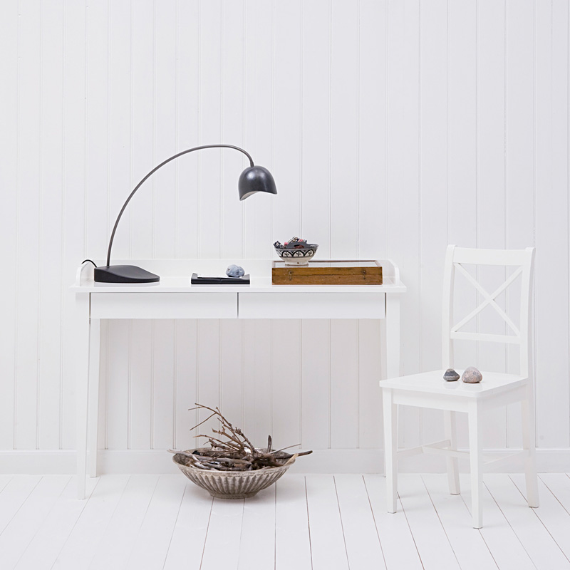 oliver furniture konsolentisch mit 2 schubladen wei online kaufen emil paula. Black Bedroom Furniture Sets. Home Design Ideas