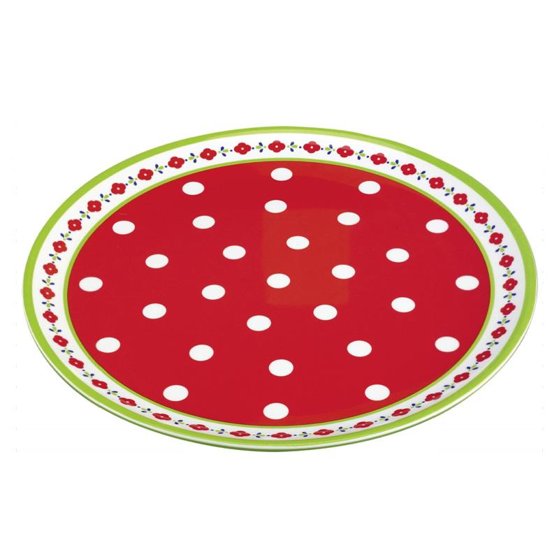 spiegelburg melamin teller klassik rot online kaufen emil paula. Black Bedroom Furniture Sets. Home Design Ideas