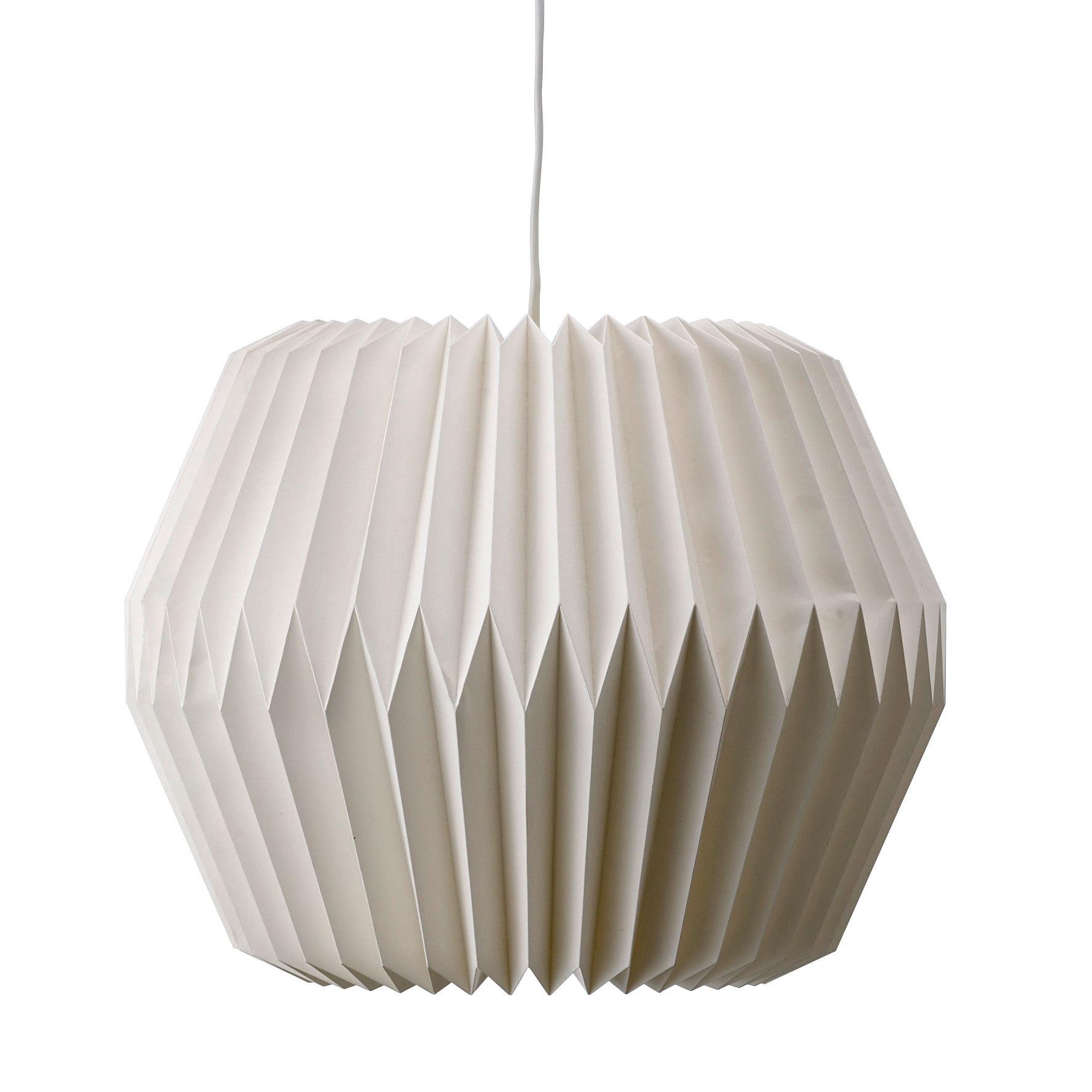 emil paula bloomingville lampe white paper 1 online. Black Bedroom Furniture Sets. Home Design Ideas