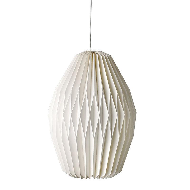 bloomingville lampe white paper 2 online kaufen emil paula. Black Bedroom Furniture Sets. Home Design Ideas