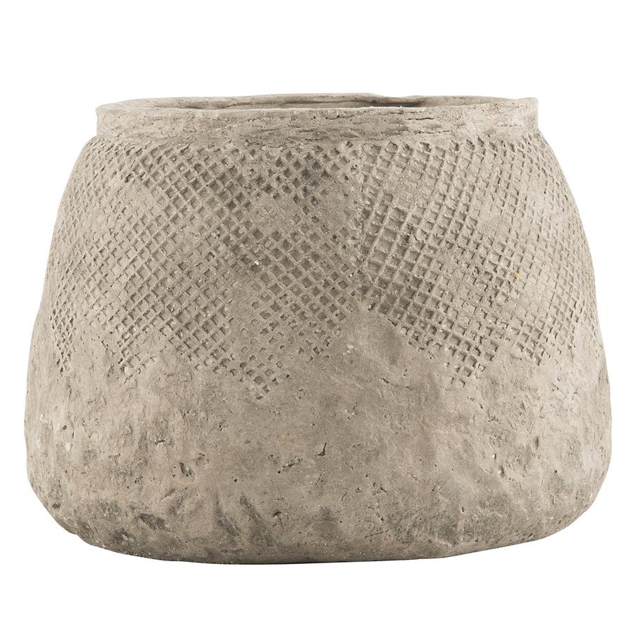 Ib laursen blumentopf hanoi beton l online kaufen emil for Blumentopf beton