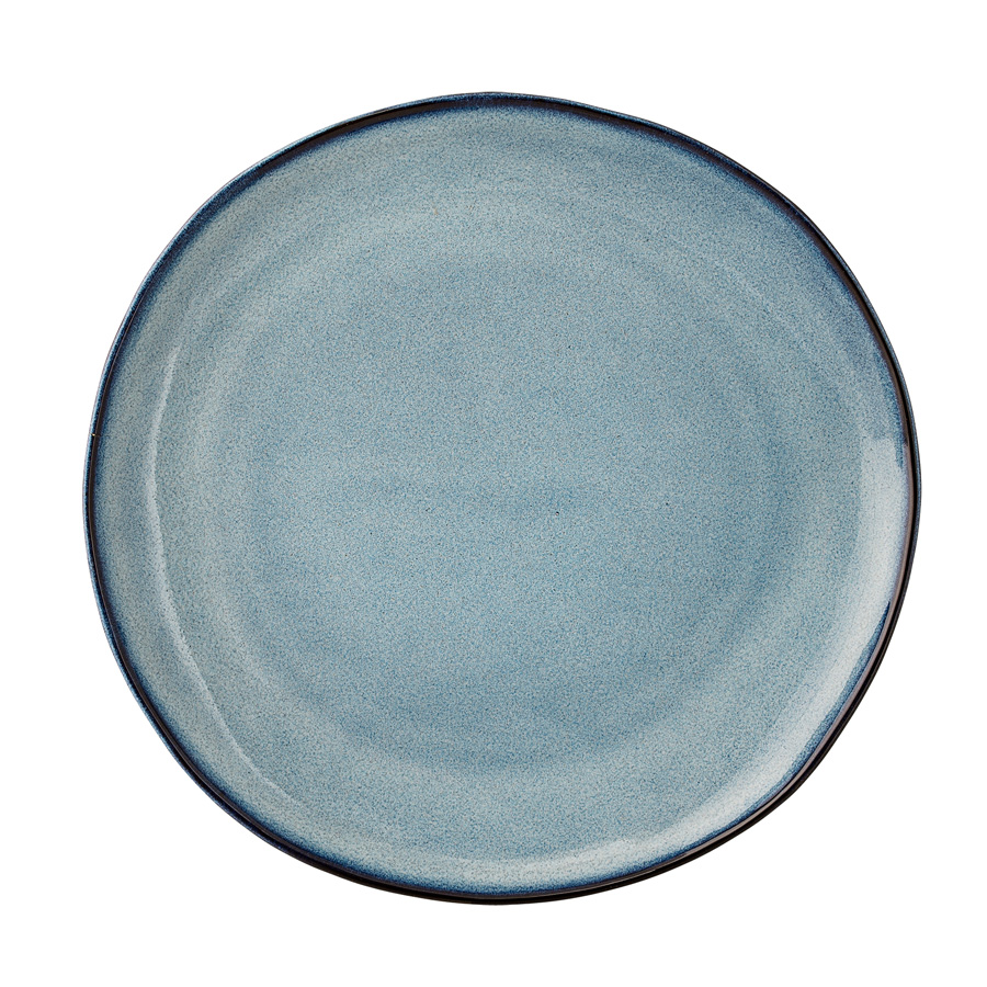 bloomingville porzellan teller sandrine blue 22cm online kaufen emil paula. Black Bedroom Furniture Sets. Home Design Ideas