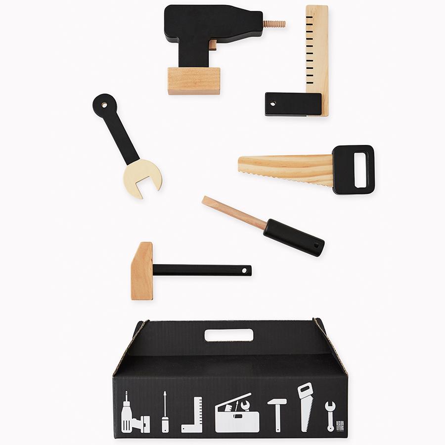 Design letters kinder werkzeug set tool school 6 teilig for Gardening tools 6 letters