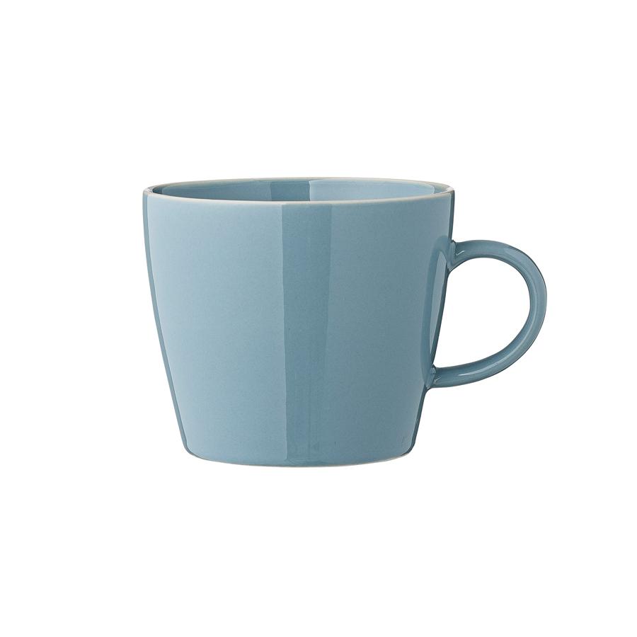 bloomingville tasse mit henkel olivia winter blue online. Black Bedroom Furniture Sets. Home Design Ideas